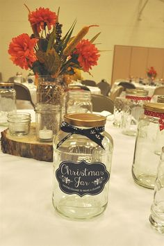 Celebrating the season of hope with the story, Christmas Jars and a lovely dinner.