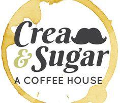 Cream and Sugar: A Coffee House Logo by Danica Hays Hay Design, Coffee Snobs, Big Thing, Home Logo, Cream And Sugar, Logo Branding, House, Home, Homes