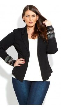 Plus Size Jackets - City Chic - be styled in sizes 14+ - City Chic