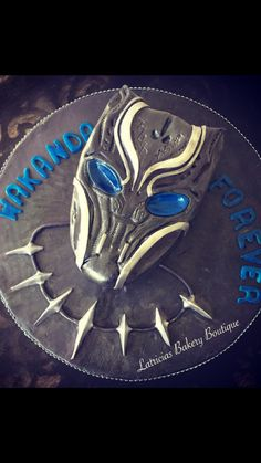 Black Panther Cake Made For A Fan Of The Recently