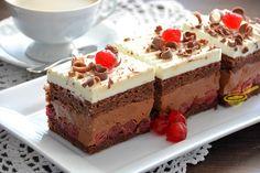 Jadranská torta - My site Romanian Food, Confectionery, International Recipes, Tiramisu, Cheesecake, Food And Drink, Sweets, Dishes, Chocolate