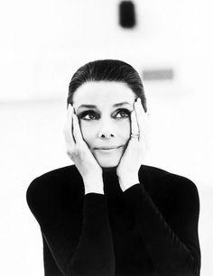 Audrey Hepburn by St