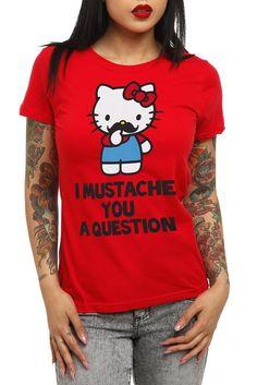 Hello Kitty Delicious Apple Girls T-Shirt
