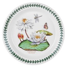 Portmeirion Botanic Garden Exotic Salad Plates - Assorted 6 Motifs at GiftCollector