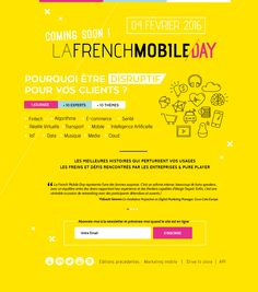 LafrenchmobileDAY, page d'attente #webdesign