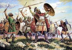 Gothic Warriors 5th Century AD/CE.