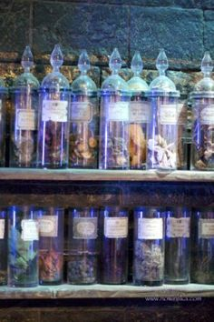 Eye of Newt … A magical storehouse at Hogwarts