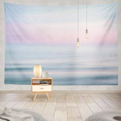 Discover the best beach themed tapestries and coastal wall tapestries. We love beach wall decor and tapestries are affordable and beautiful, which makes them a great option. Dorm Tapestry, Blue Tapestry, Tapestry Bedroom, Tapestry Wall Hanging, Tapestries, Beach Bedroom Decor, Beach Wall Decor, Bedroom Ideas, Ocean Bedroom