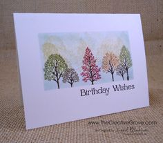 Lovely as a Tree OLC by nyingrid - Cards and Paper Crafts at Splitcoaststampers