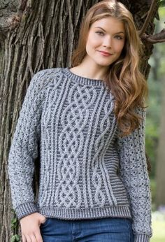 Free Crochet Pattern For Cabled Sweater : 1000+ images about Knitting Sweater Patterns on Pinterest ...
