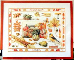 Lanarte Counted Cross Stitch Kit by Marjolein by MyStitchingGarden, $65.00