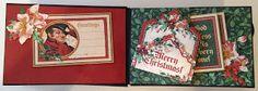 annes papercreations: Graphic 45 A Christmas Carol Mini Album dans une maison de Noël et la page Tutorial base