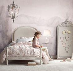 Modern kids' room designs show a masculine vibe in boys' bedroom furniture and offer light feminine pastels for girls' bedroom decorating