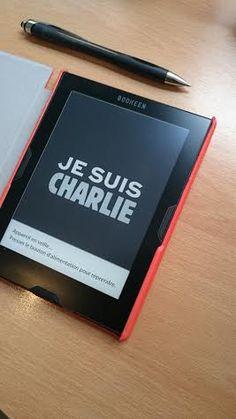 #CharlieHebdo #CybookMuse is Charlie Screensaver Images, Folder Image, Ex Libris, Reading