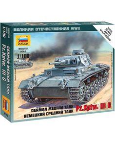 Звезда немецкий средний танк Pz.Kp.fw.III G 1:100