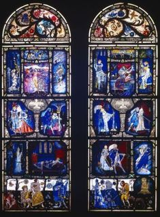 Harry Clarke, Stained Glass Church, Stained Glass Windows, Art Deco Movement, Arts And Crafts Movement, Melencolia I, St Agnes, Cathedral Architecture, Irish Art