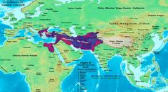 Map of Afro-Eurasia in 320s BC, with an emphasis on Alexander the Great's empire