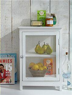 Fliegenschrank Süßer Fliegenschrank für die Küche. Im Sommer ist das kleine Schränkchen auch im Freien super zu gebrauchen.