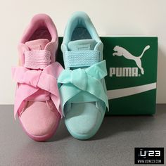 Sneakers Femme - PUMA SUEDE HEART RESET WNS