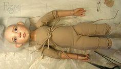 proceso de trabajo creación de muñeca