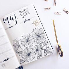 Czasem tak mam, że długo szukam inspiracji na bazgroły, a jak zacznę rysować, to nie mogę przestać Happy Tuesday, IG! • • • #bulletjournal #bulletjournaljunkies #bulletjournalpolska #bujo #bujojunkies #plannergirl #doodle #leuchtturm1917 #flatlay #floral #washitape #stationeryaddict