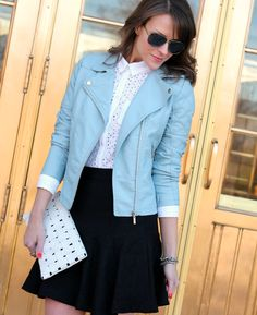 I love light blue. I don't know why but I do.   Penny Pincher Fashion