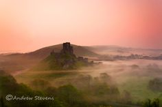 Corfe Castle (asp06-4036). One of my personal fav's, and still a best seller several years on (got to love a best seller!!).