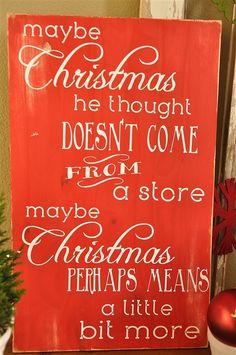 Dr. Seuss Christmas Quote Subway Art Tutorial