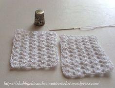 2 crochet sachets