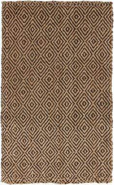 An exquisite example of a natural fiber rug, this piece from the Reed Collection is hand-woven of 100% jute. If you prefer to decorate with environmentally friendly products or just love the casual, organic look of natural materials, this rug is for...