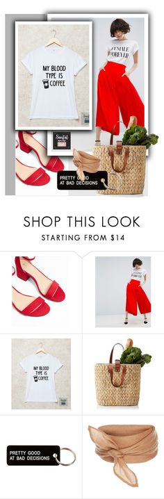 """""""SantalSide  4"""" by k-lole ❤ liked on Polyvore featuring Express, ASOS and Various Projects"""