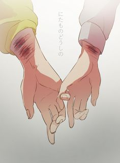 It's sad but beautiful Anime Hand, Manga Romance, Image Manga, Anime Couples, Manga Anime, Creepy, Art Drawings, Horror, Character Design