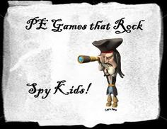 Spy Kids - physical education game - PE Games that Rock!
