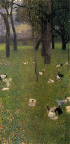 Gustav Klimt  After the Rain