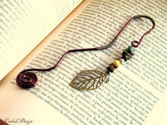 Hey, I found this really awesome Etsy listing at https://www.etsy.com/listing/222248033/handmade-wire-wrapped-bookmark-with