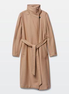 Babaton Jacoby Coat, $295; us.aritzia.com   - ELLE.com