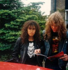 Hammett and Hetfield