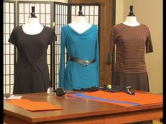 Peggy Sagers shares simple techniques for making functional clothing on It's Sew Easy Sewing Hacks, Sewing Tutorials, Sewing Projects, Tutorial Sewing, Sewing Tips, Sewing Ideas, Sewing Crafts, Clothing Patterns, Sewing Patterns