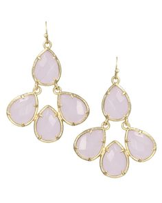Courtney Earrings in Lilac - Kendra Scott Jewelry...guess I have to have them since we share the same name!