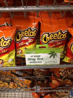 Whoever decided Flamin' Hot Cheetos were more important than that job at the bank.