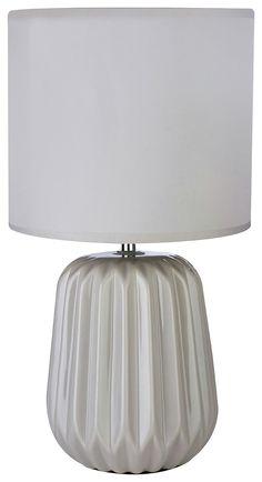 Winola - Ceramic - Table Lamp - Grey: Elegantly formed using ceramic, the base is durable and smooth… #argosuk #argos #uk #ukonlineshopping