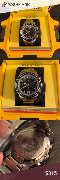 Invicta Specialty Collection Diver Watch MSRP:895$ Men's Invicta Specialty Collection Watch, Model No. 15056, 47mm Brushed Stainless Steel Divers Watch with Flame Fusion Crystal durable enough for depths up to 100 meters. Watch comes with original Invicta box and handbook. INVICTA SPECIALTY COLLECTION WATCH!! MSRP: 895$🇺🇸TAKING OFFERS! Invicta Accessories Watches