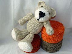 Osito Teddy tejido al crochet