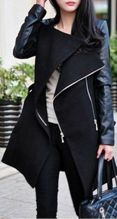 Love the Black Trench Coat