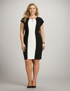 Moda para mujeres gorditas : Espectaculares vestidos de moda para gorditas
