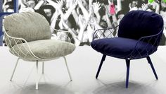 Pina Low Chair Design by Jaime Hayon for Magis, Salone del Mobile 2013 Milan « « Design Images, Photos and Pictures Gallery « DESIGN WAGEN