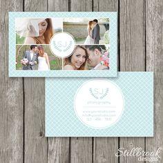 Photography Business Cards - Business Card Template for Photographers - Modern Business Card - Portrait Wedding Newborn Photographer - BC16