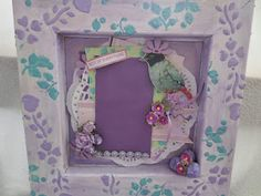 Shadow box from a frame