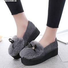 Resultado de imagen para zapatos de invierno 2017 mujer con taco
