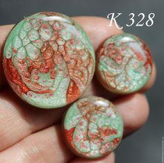 Для украшений ручной работы. Ярмарка Мастеров - ручная работа. Купить К  328 / 330 / 259 / 268 Кабошоны ручной работы. Handmade.